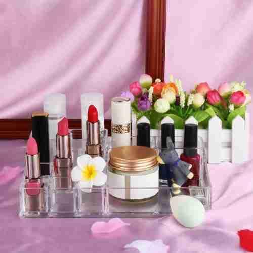 Large Clear Acrylic Makeup Organizer