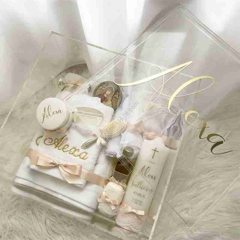 clear acrylic gift box wholesale