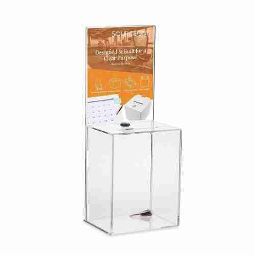 Premium Tall Donation Box