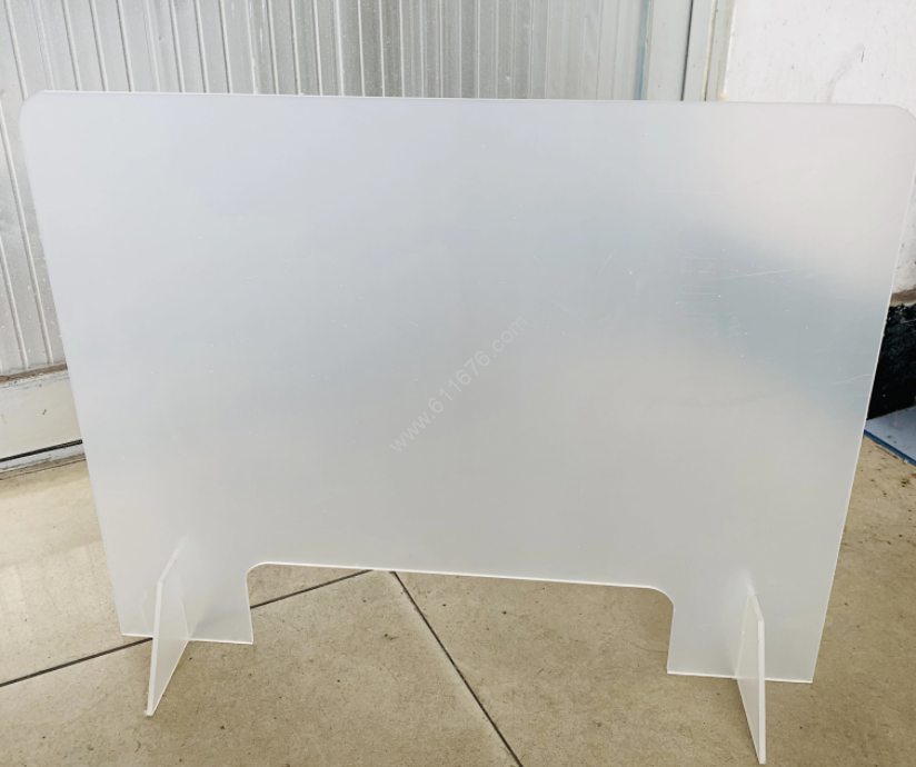 Acrylic Sneeze Screen Countertop